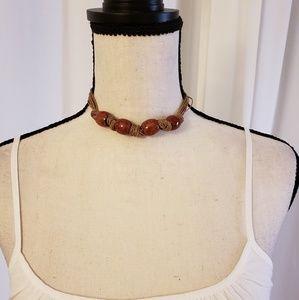 Jewelry - Red ethnic choker